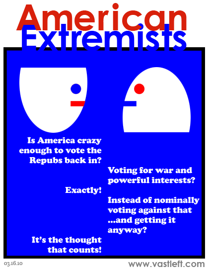 American Extremists - Every way you look at it you lose