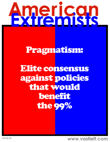 "I'll take ""Pragmatism"" for 1%, Alex!"