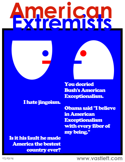 American Extremists - The ruler that proves the exception