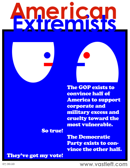 American Extremists - Why we need two parties