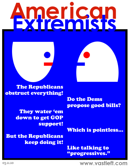 American Extremists - Obstruction fiction, what's your function?